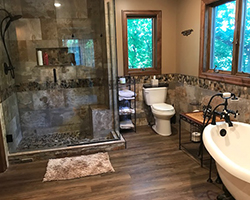 Bathroom remodel project by Traditional Floors & Design Center in Saint Cloud, Minnesota